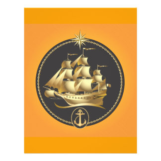 Golden-Sailboat.ai Folleto 21,6 X 28 Cm