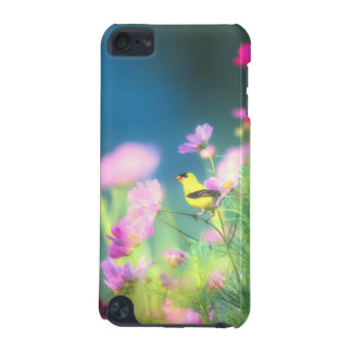 Goldfinch americano y Coreopsis Funda Para iPod Touch 5