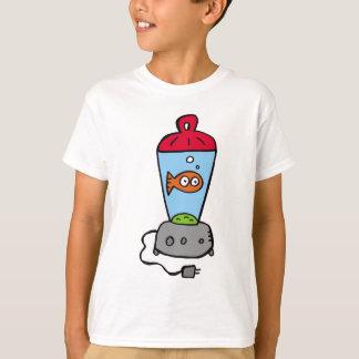 Goldfish de las cosquillas en un mezclador camiseta