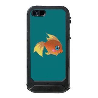 Goldfish lindo funda para iPhone 5 incipio ATLAS ID