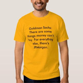 Goldman Sachs: Hay algunas cosas que puede el Camisas
