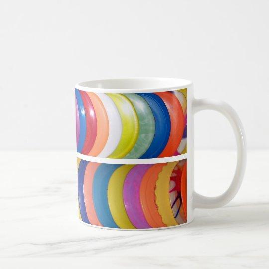 Golf 011 del disco taza de café