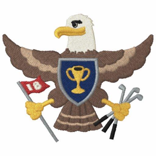 Golf de Eagle Camiseta Polo Bordada