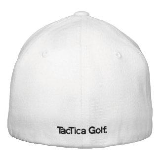 Golf de TacTica. Gorra blanco original de FlexiFit Gorra De Béisbol