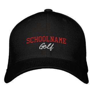 Golf del alcohol de la escuela - gorra bordado - gorros bordados