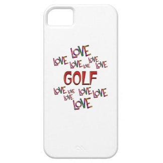 Golf del amor del amor funda para iPhone SE/5/5s