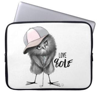 Golf del amor funda para ordenador
