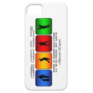 Golf fresco es una manera de vida funda para iPhone SE/5/5s
