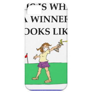 golf funda para iPhone SE/5/5s