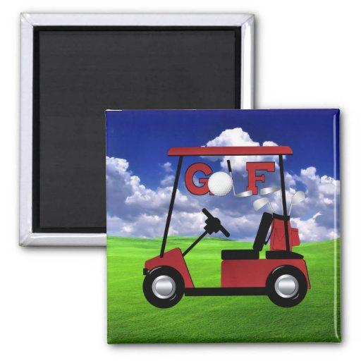 Golf Imán Para Frigorifico