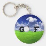 Golf Llavero Personalizado