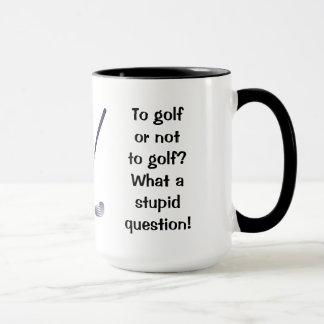 Golf o no golf la taza del campanero