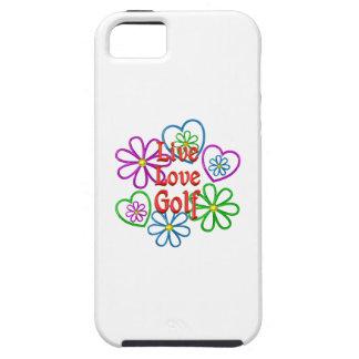 Golf vivo del amor funda para iPhone SE/5/5s