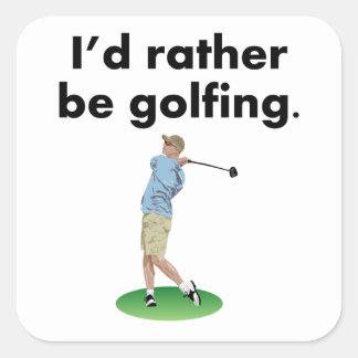Golfing bastante colcomanias cuadradases