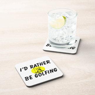 Golfing bastante posavasos