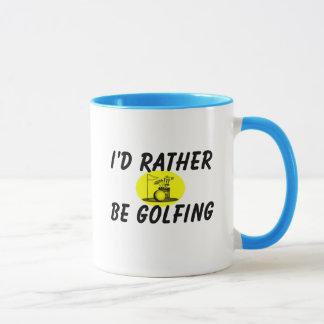 Golfing bastante taza