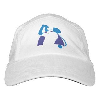Golfista azul personalizado gorra de alto rendimiento