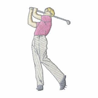 Golfista del hombre polo