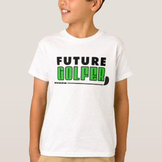 Golfista futuro camiseta