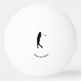 Golfista Pelota De Ping Pong