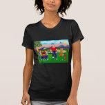 Golfistas del dibujo animado - para el amor del camisetas