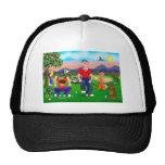 Golfistas del dibujo animado - para el amor del go gorras