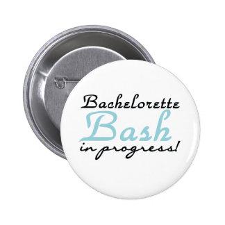 Golpe azul de Bachelorette Pins