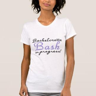 Golpe púrpura de Bachelorette Camisetas