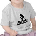 Golpear diseños del hip-hop camisetas