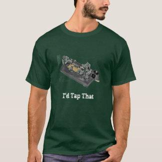 Golpearía ligeramente eso camiseta