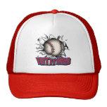 Golpéelo gorra duro del camionero del béisbol