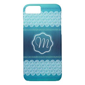 Golpeteo texturizado extracto fresco de las ondas funda iPhone 7