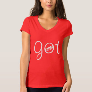Goma conseguida camiseta