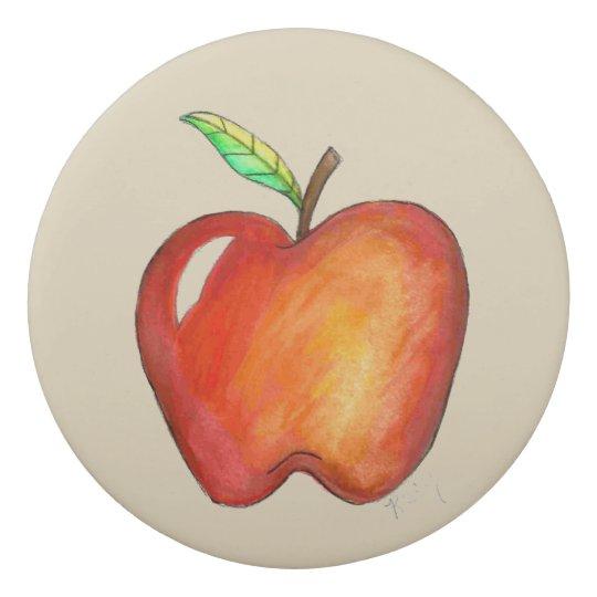 Goma De Borrar A+ Profesor Apple rojo de nuevo al regalo de la
