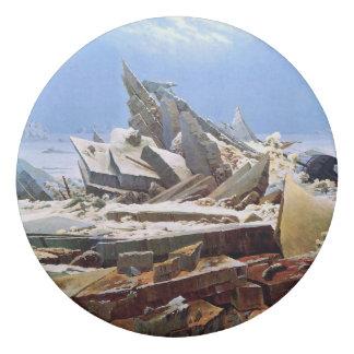Goma De Borrar CASPAR DAVID FRIEDRICH - el mar del hielo 1824
