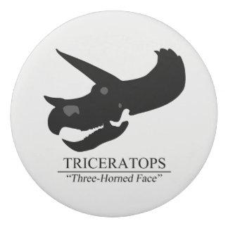 Goma De Borrar Cráneo del Triceratops