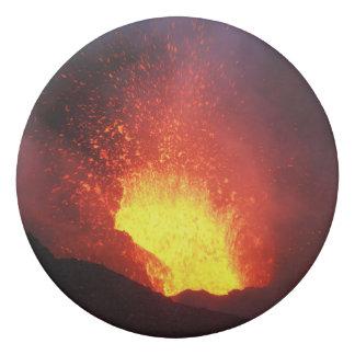 Goma De Borrar Erupción volcánica de la noche hermosa