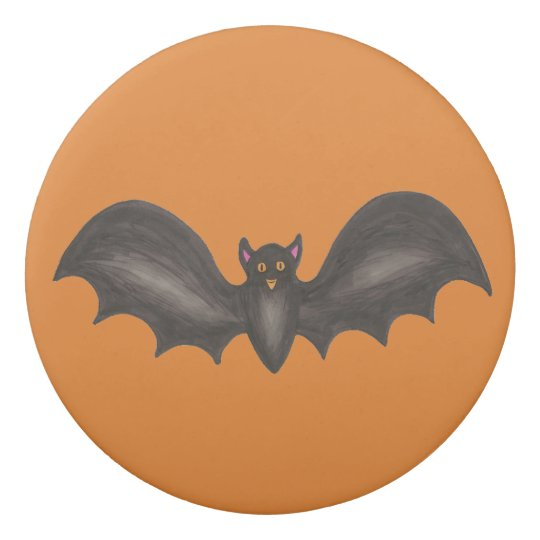 Goma De Borrar Palo fantasmagórico negro anaranjado Halloween del