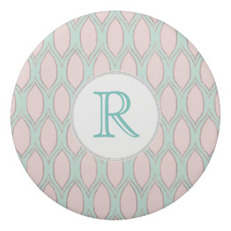 Goma De Borrar se ruboriza el rosa y acuña el modelo geométrico