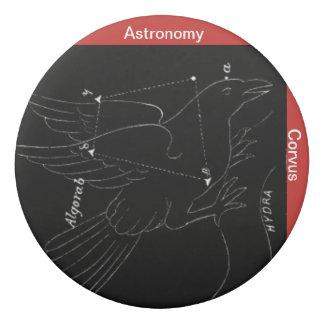 Goma De Borrar Vintage-astronomía-corvus