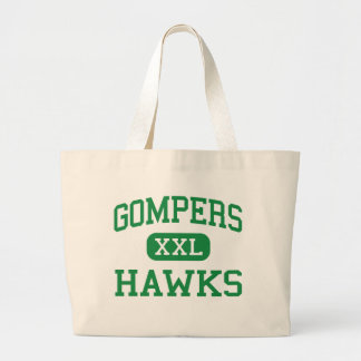 Gompers - halcones - joven - Joliet Illinois Bolsa Tela Grande