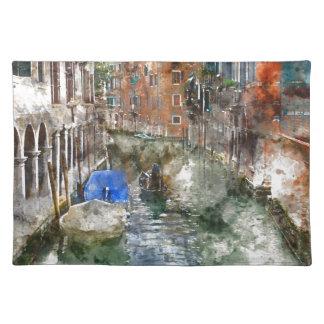 Góndola de Venecia Italia Salvamanteles