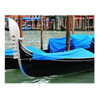 Góndola en Venecia, Italia Postal