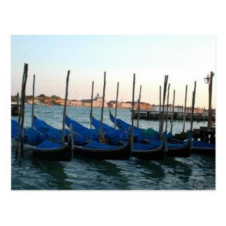 Góndola Venecia Postal