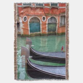 Góndolas en el Gran Canal, Venecia Manta