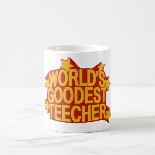 Goodest Teecher del mundo Taza De Café