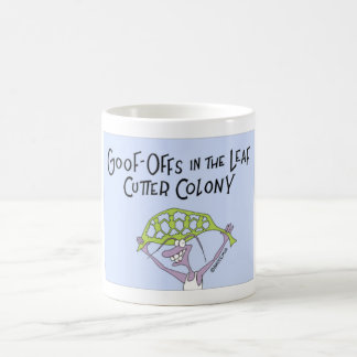 Goof de la hormiga apagado taza de café