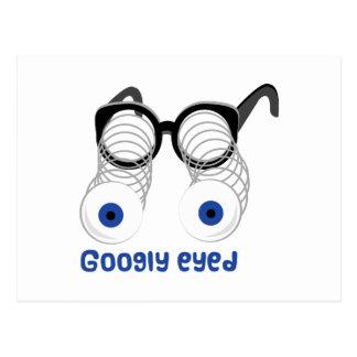 Googly observada postales