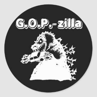 GOPZILLA png Etiqueta