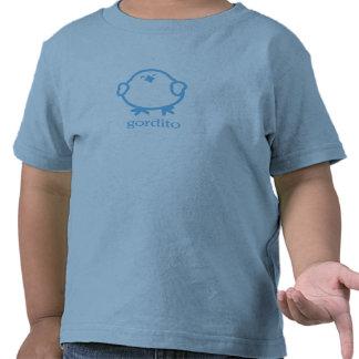 Gordito = pedazo del amor camisetas